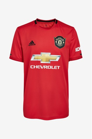 adidas Manchester United FC 1920 Jersey Top