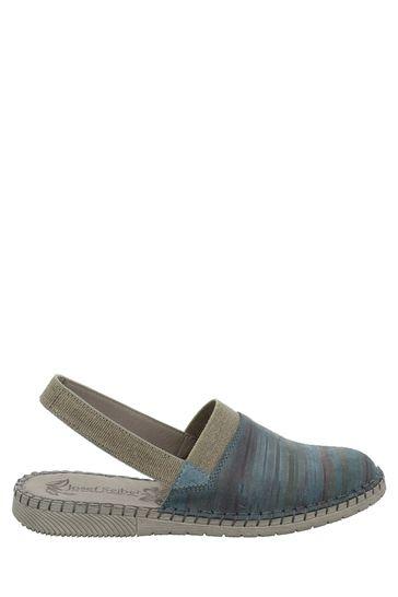 Josef Seibel Blue Sofie Slip On Shoes
