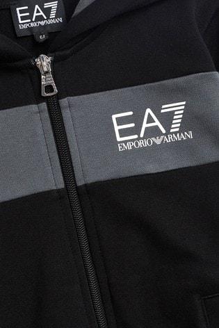 Emporio Armani EA7 Boys Block Tracksuit