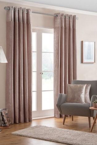 Design Studio Nova Lined Eyelet Curtains