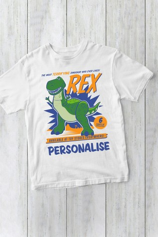 Disney™ Toy Story Personalised Rex T-Shirt