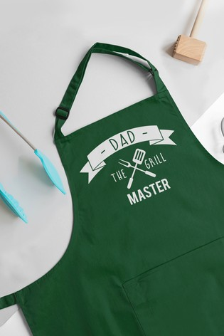 Personalised BBQ King Apron by Jonny's Sister