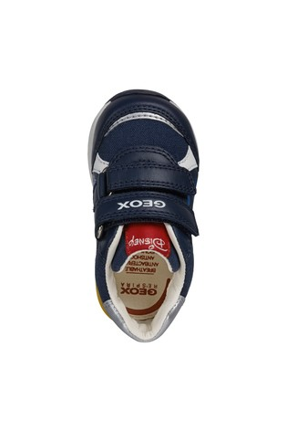 Geox Baby Boy's Rishon Blue Shoes