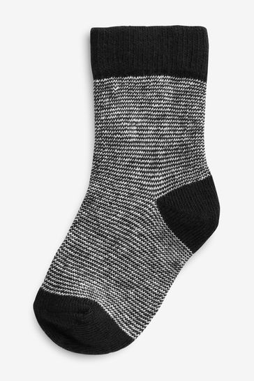 Monochrome Socks Five Pack (Younger)