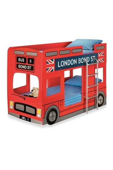 London Bus Bunk Bed By Julian Bowen