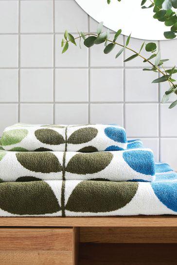 Orla Kiely Trio Stem Towel