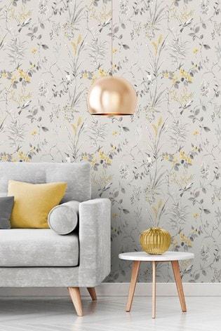Mariko Floral Wallpaper by Crown