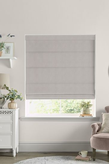 Grey Swanson Made to Measure Roman Blind