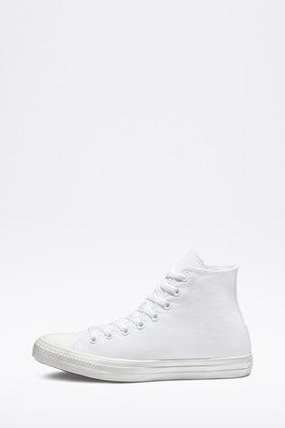 Converse White Chuck High Trainers