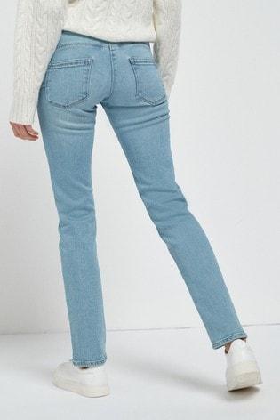 Light Blue Lift, Slim And Shape Slim Jeans