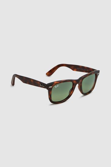 Ray-Ban® Red Havana Wayfarer Sunglasses