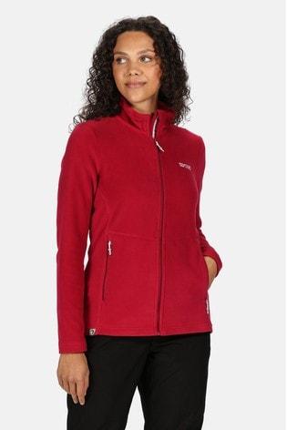 Regatta Pink Floreo III Full Zip Fleece Jacket