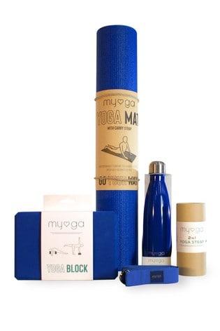 Myga Exclusive To Next Blue Yoga Set