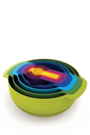 9 Piece Joseph® Joseph Plus Multi Colour Nesting Set