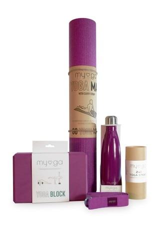 Myga Exclusive To Next Purple Yoga Set