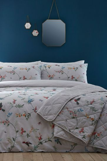 Mansfield Duvet Cover And Pillowcase Set by D&D