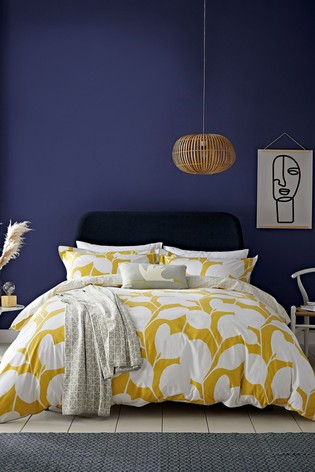 Scion Ocotillo Abstract Cotton Duvet Cover and Pillowcase Set