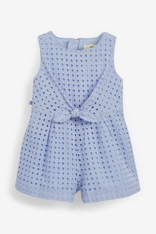 Baker by Ted Baker Blue Playsuit