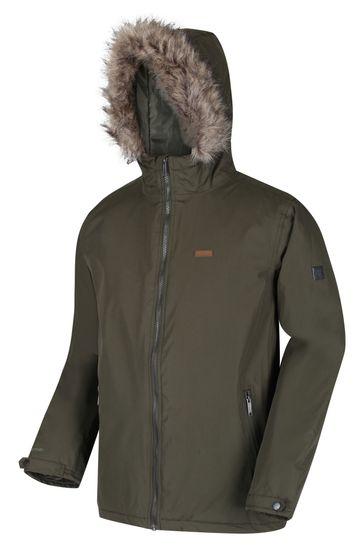 Regatta Green Haig Waterproof Jacket