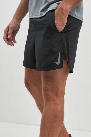 """Nike Black 5"""" Challenger Running Short"""