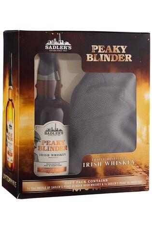 Peaky Blinders Whiskey And Cap Gift Set