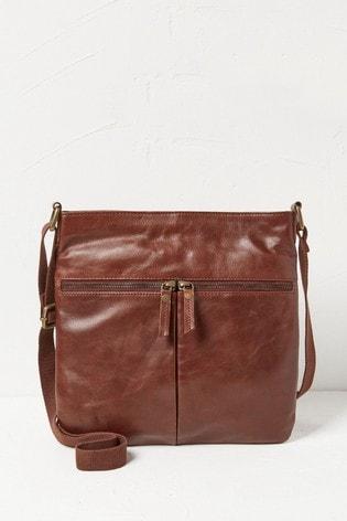 FatFace Brown Amy Cross Body Bag