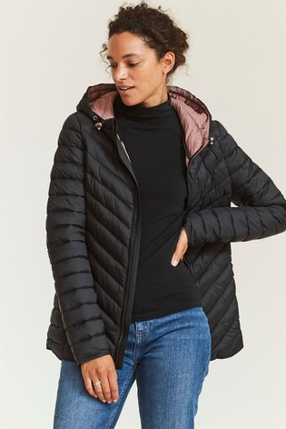 FatFace Black Ruby Padded Jacket