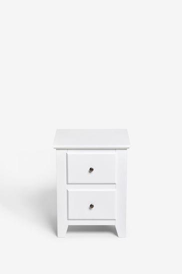 Ashington 2 Drawer Bedside Table