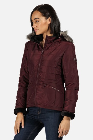 Regatta Purple Westlynn Insulated Jacket