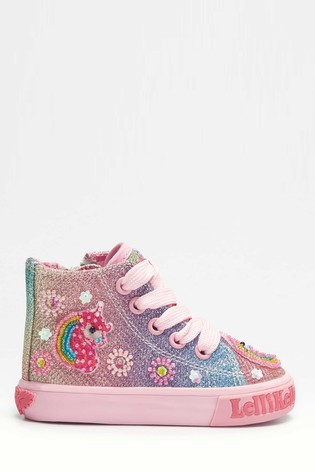 lelli kelly high top trainers