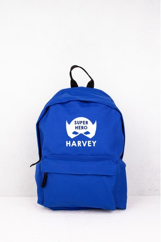 Personalised Hero Backpack by Loveabode