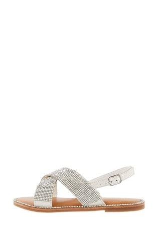 Monsoon Diamante Sandals