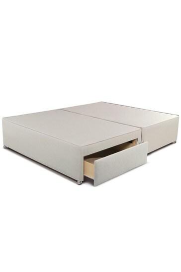 2200 Gel Mattress 2 Drawer Divan Set By Sleepeezee