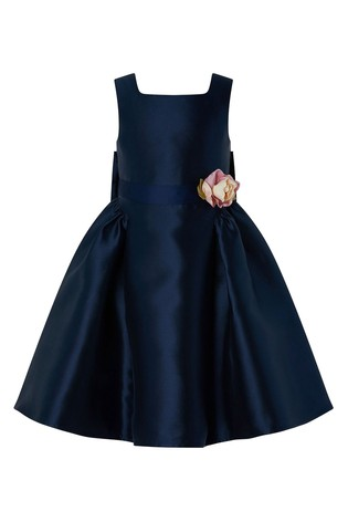 Monsoon S.E.W Recycled Navy Pearl Duchess Dress