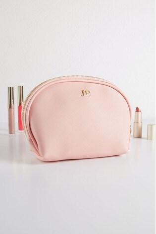 Personalised Pink Cosmetic Bag