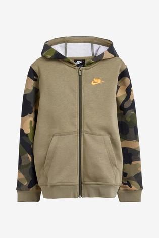 Nike Camo Full Zip Hoody