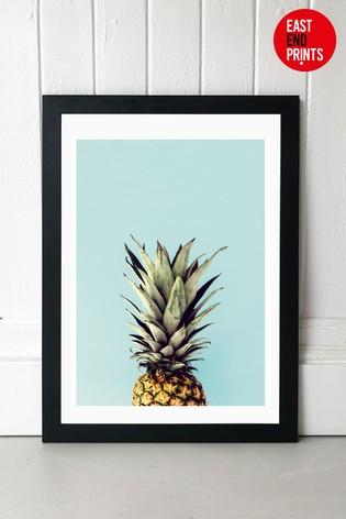 Pineapple by Rafael Farias Framed Print