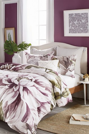 Peri Home Peony Blossom Large Floral Duvet Cover