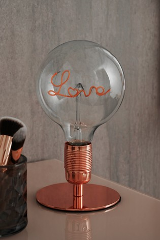Love Table Lamp