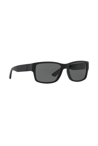 Polo Ralph Lauren® Matte Black Sunglasses