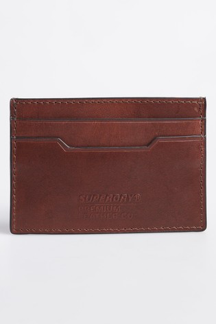 Superdry Leather Card Holder