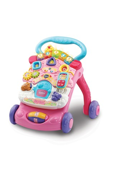VTech Pink First Steps Baby Walker 505653