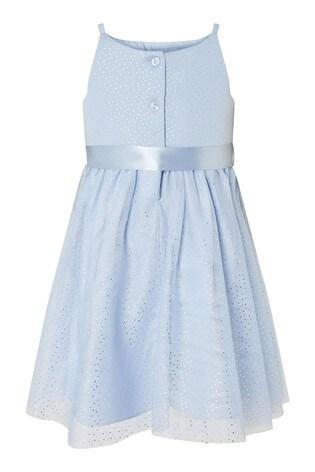 Monsoon Baby Foil Spot Shimmer Dress