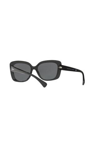 Ralph by Ralph Lauren Shiny Black Glitter Women's Sunglasses