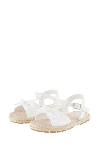 Monsoon Baby Broderie Sandals