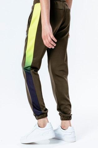 Hype. Green Neon Fade Kids Track Pants