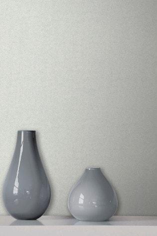 Fine Décor Grey Milano 8 Plain Wallpaper