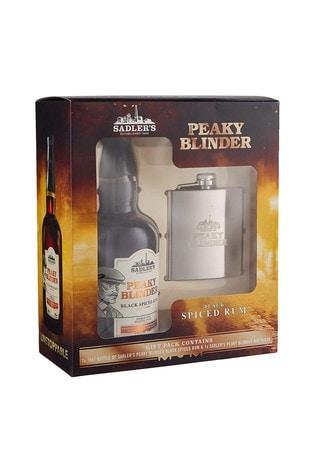 Peaky Blinders Rum And Hip Flask Gift Set
