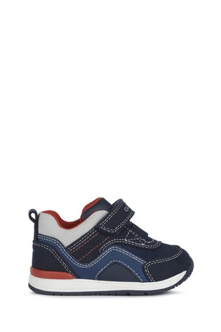 Geox Baby Boy/Unisex's Rishon Navy/Grey Shoes