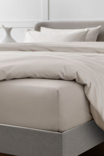 Stone Collection Luxe 400 Thread Count Deep Fitted 100% Egyptian Cotton Sateen Deep Fitted Sheet